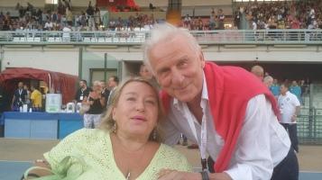 Lorella Ronconi e Giovanni Trapattoni